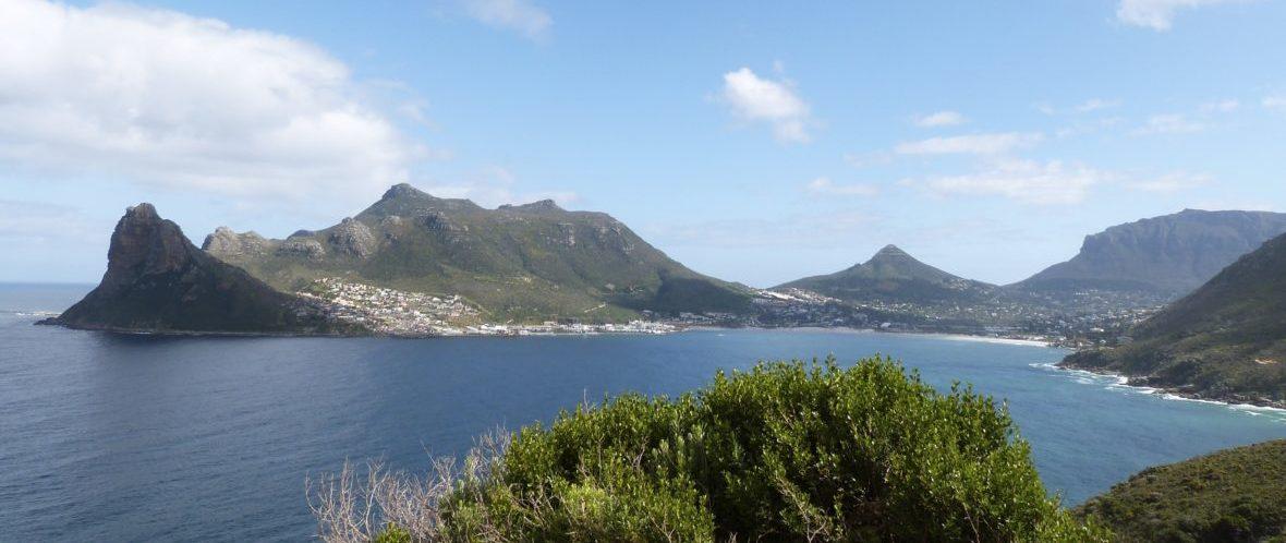 montagne et mer afrique du sud