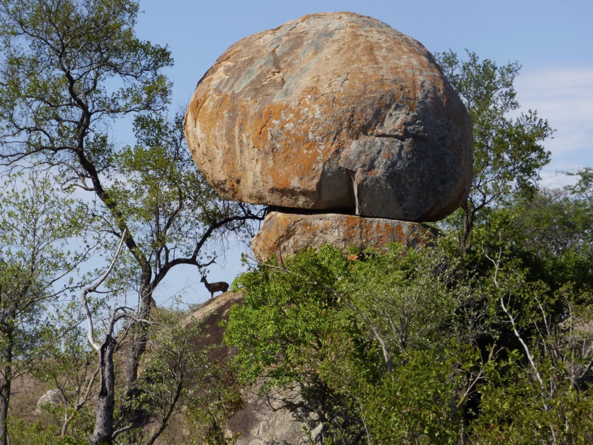 rocher afrique du sud
