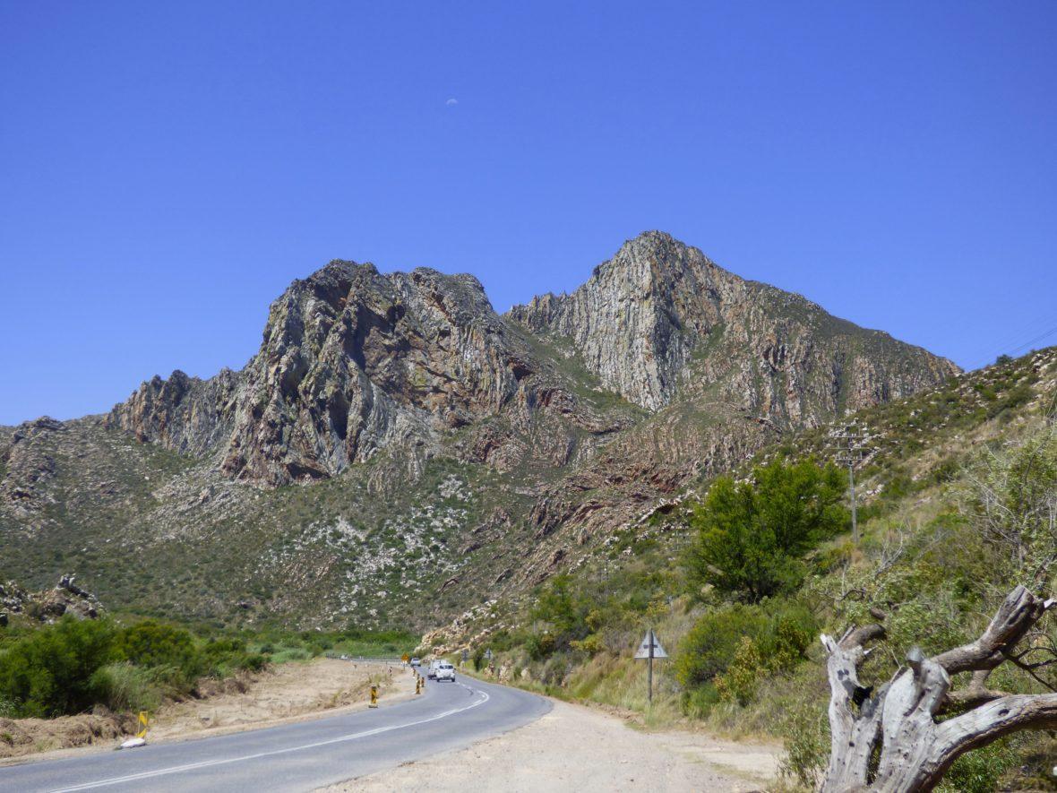 route et montagne afrique du sud