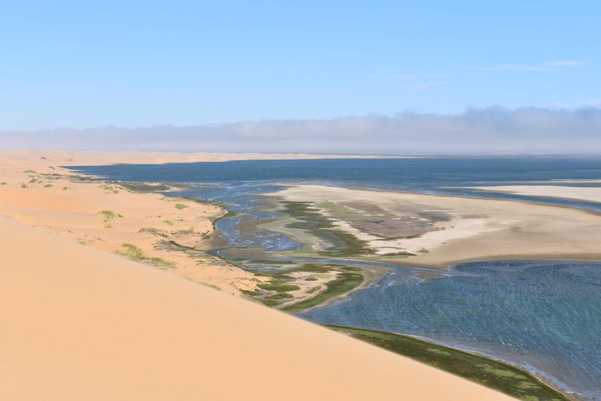 sable et mer afrique du sud
